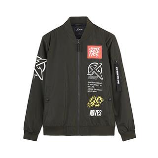 特步 男子双层夹克 18秋季时尚百搭新款潮流外套882329129355