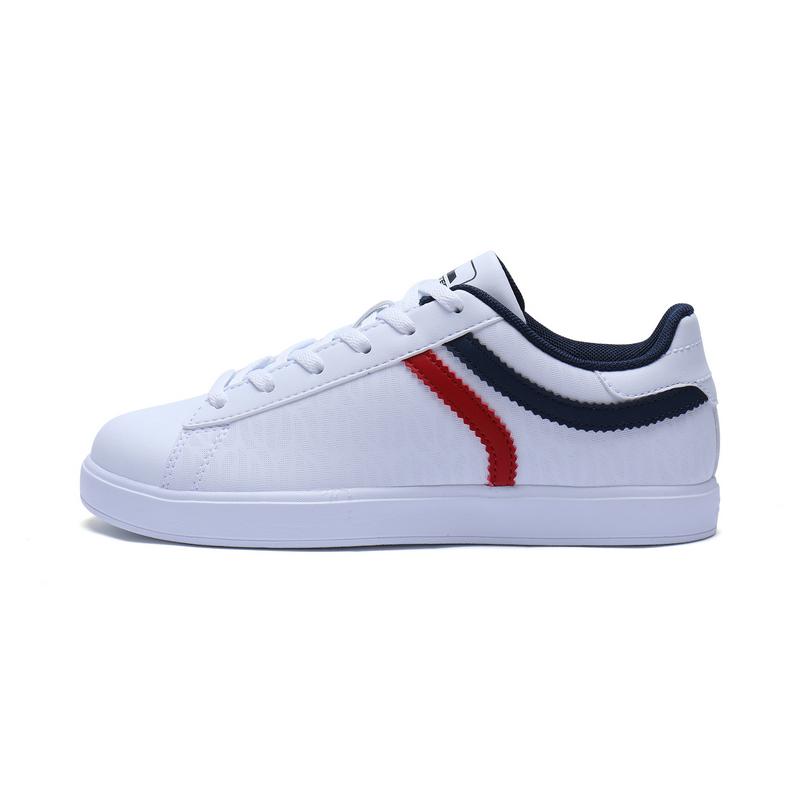 特步 专柜款 女子秋季板鞋 π鞋 简约百搭 舒适女鞋983318315577