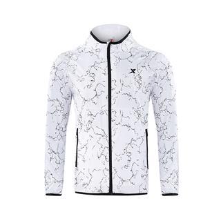 特步 专柜款  男子双层风衣  时尚综训舒适运动外套982329150392