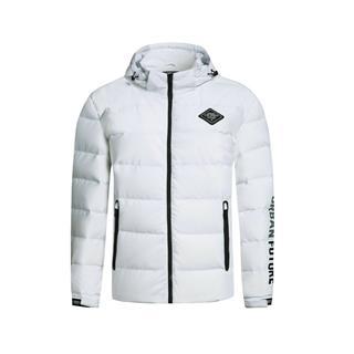 特步 男子羽绒服 冬季都市时尚舒适外套883429199699