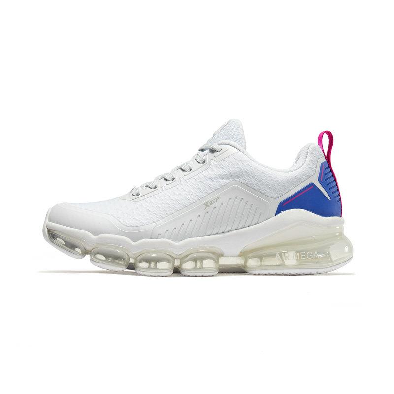 【气能环科技】特步 女子跑鞋 19春季新款潮流时尚系带全掌气垫运动鞋881118119210