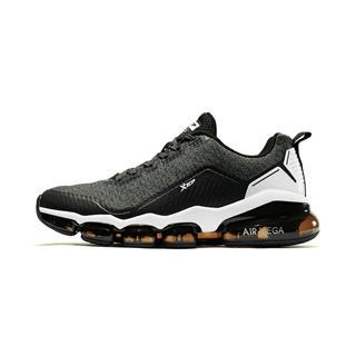特步 男子跑鞋 19春季新款时尚休闲舒适全掌气垫男运动鞋881119119091