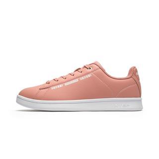 特步 专柜款 女子板鞋 冬季新款时尚百搭休闲革面系带休闲鞋982418316130