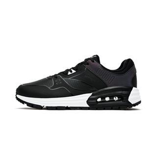 特步 专柜款 女子棉鞋 冬季新款时尚革面系带耐磨健身女运动鞋982418371055