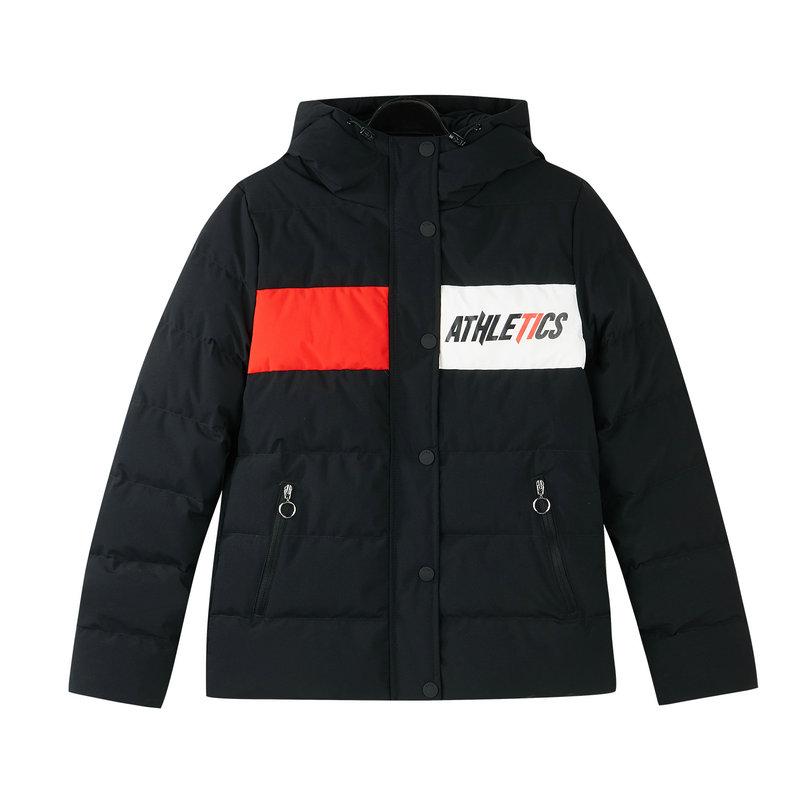 特步 专柜款 女子羽绒服 冬季新款保暖时尚休闲活力运动外套982428190801