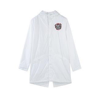 特步 男子双层风衣 秋季新款时尚潮流嘻哈风衣外套882329159257