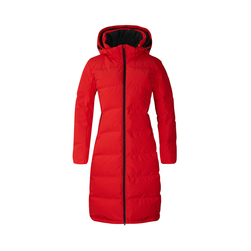 特步 专柜款 女子冬季轻便保暖纯色综训羽绒服982428190920