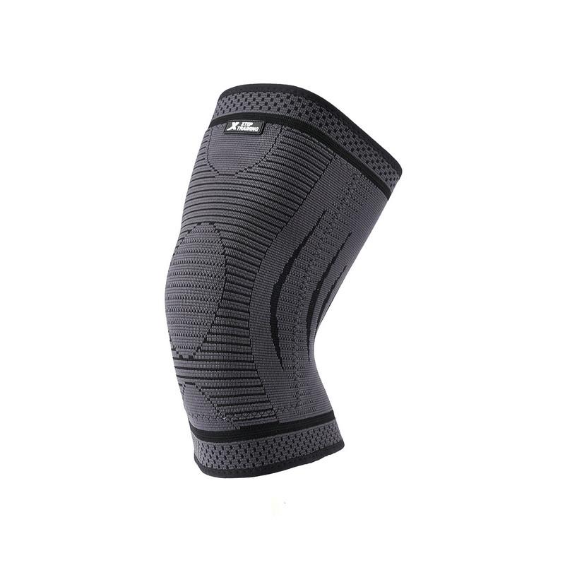 特步 男子运动护膝 秋冬新款男女士加绒保暖单只装护具882437329060