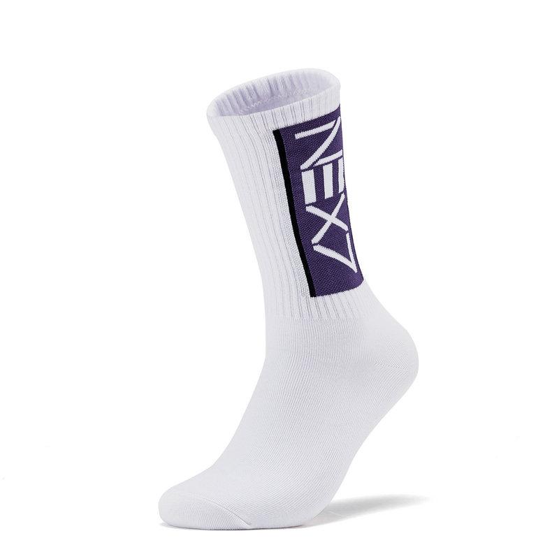 【联名款】特步 男子长袜 19新款轻便高筒舒适潮流穿搭男运动袜子881139569110