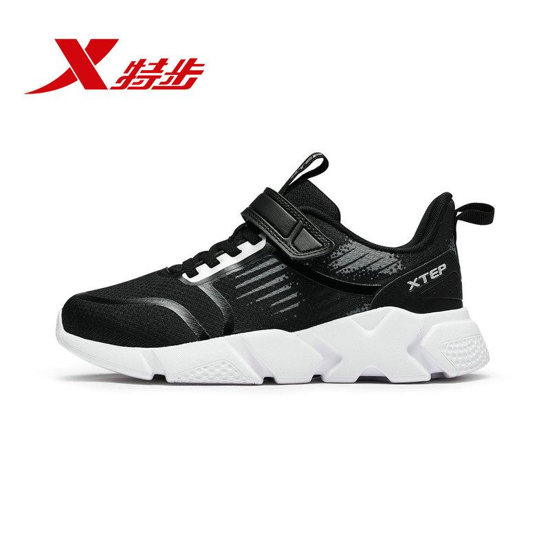 特步 男童休闲鞋 冬季新款儿童运动鞋大童学生运动鞋682415329093
