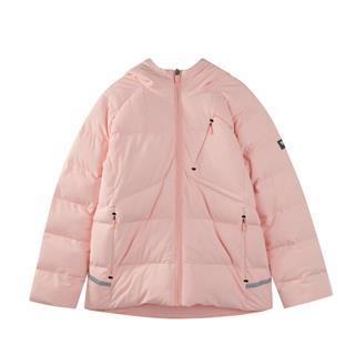 特步 女童棉服 冬季新款保暖加厚外套时尚易搭儿童保暖服棉衣882424189533