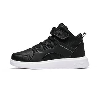 特步 儿童板鞋 冬季新款高帮休闲男童运动鞋682415319082