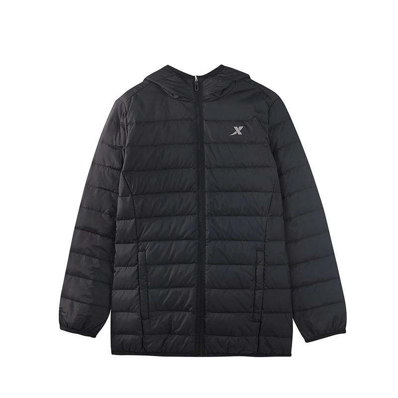 特步 男女童轻薄羽绒服 冬季新款保暖舒适儿童中大童儿童外套882425199502