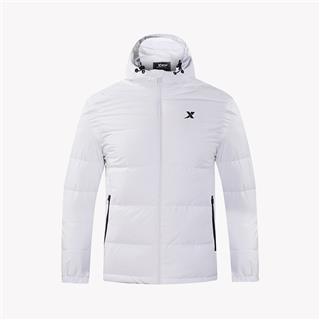 特步 男装运动外套 冬新款保暖时尚休闲羽绒服882429199105