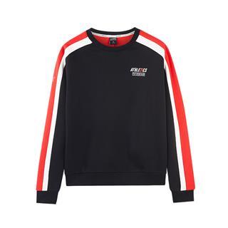 特步 专柜款 女子卫衣 冬季新款时尚舒适活力运动休闲套头衫982428051831