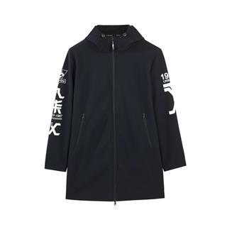 特步 专柜款 男子冬季时尚保暖中长款风衣982429160185
