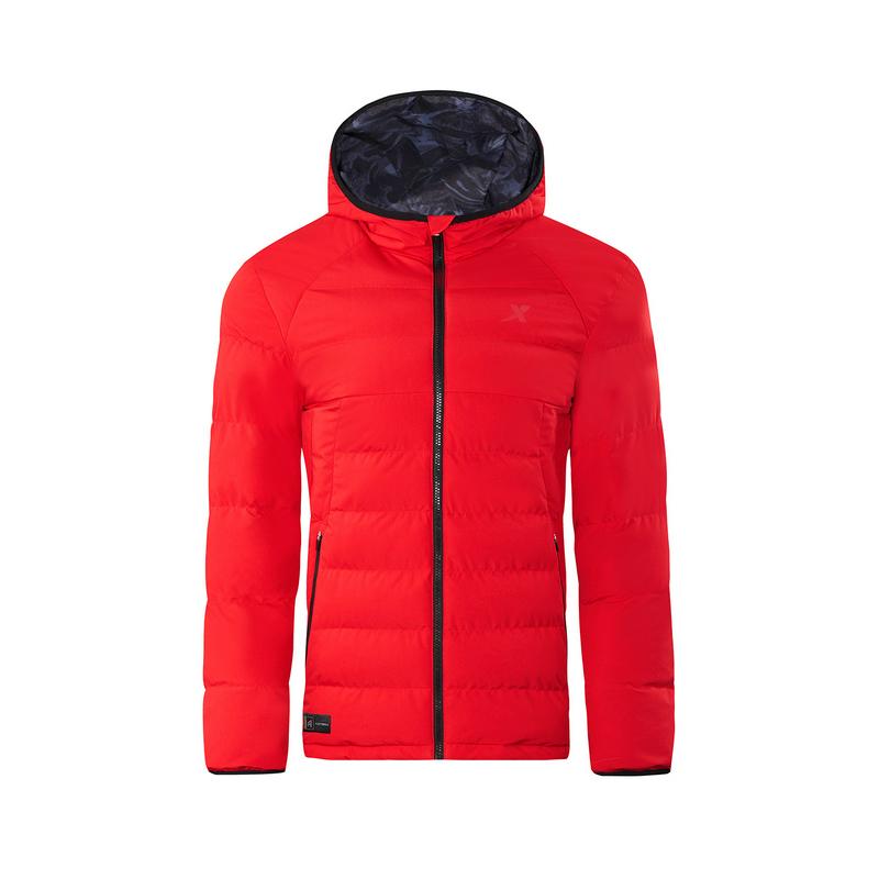 特步 专柜款 男子冬季新款时尚保暖厚棉服982429180941