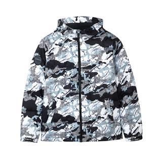 特步 专柜款 男子冬季都市活力百搭保暖时尚羽绒服982429190810