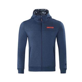 特步 专柜款 男子针织棉服 冬季新款连帽保暖健身运动休闲外套982429070015