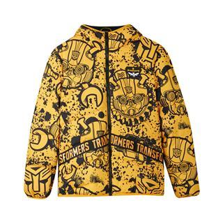 【变形金刚联名款】特步 专柜款 男子羽绒服 冬季新款跨界外套982429190902