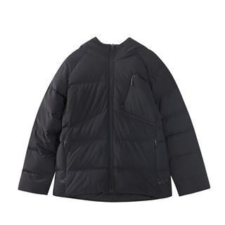 特步 男童厚棉服 冬季新款时尚保暖中大童儿童加厚外套882425189508