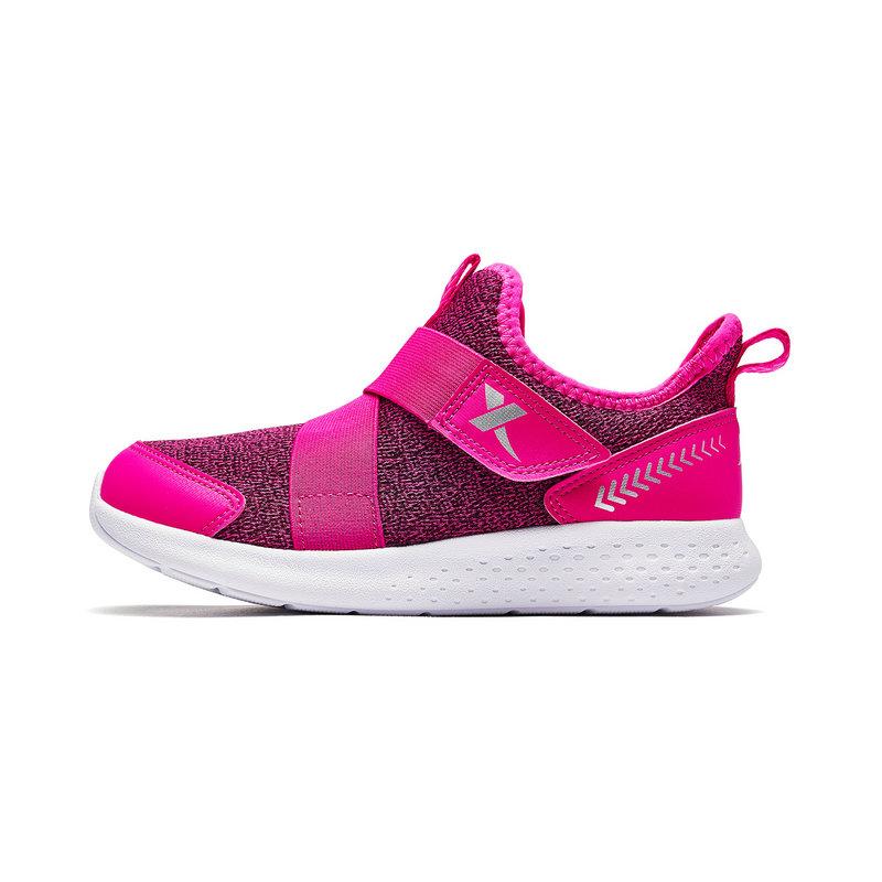 特步 专柜款 女童跑鞋 秋冬新款时尚休闲儿童运动鞋682314115129