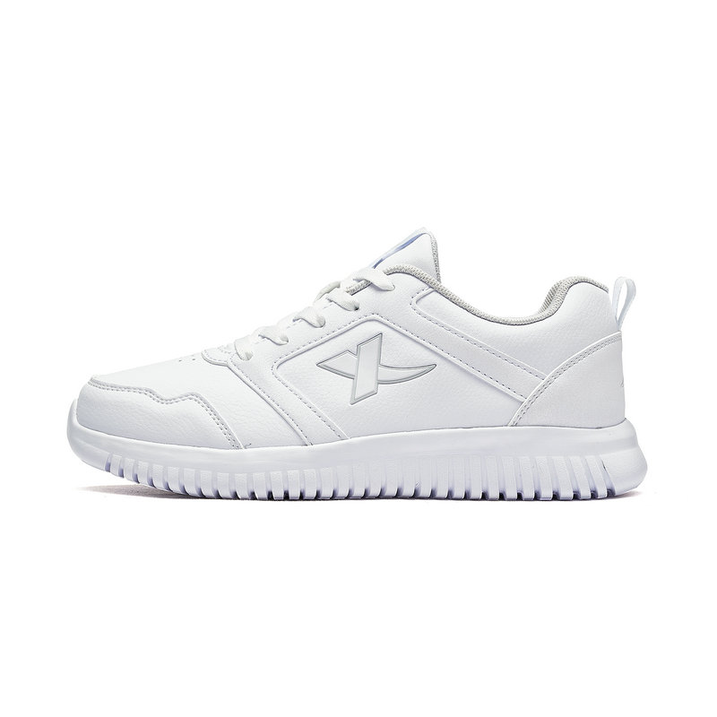 特步 专柜款 女童跑步鞋 秋冬新款时尚革面休闲儿童运动鞋682314119021