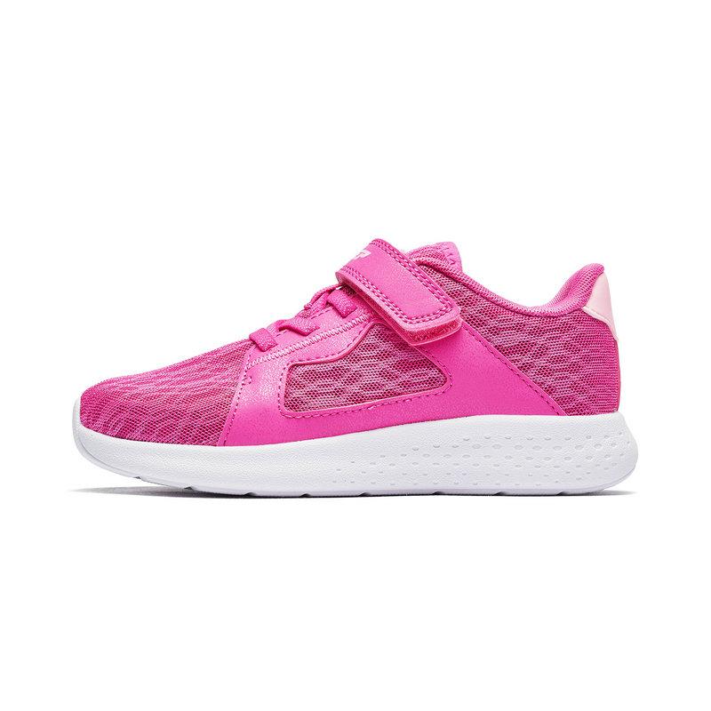 特步 男女童跑鞋 19春季新款舒适轻便时尚中大童休闲儿童运动鞋681116119162