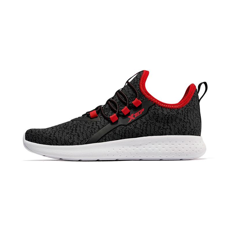 特步 男童跑鞋 19春季新款网面透气轻便舒适儿童运动鞋681115119169