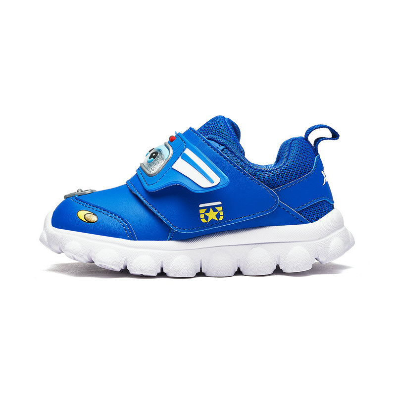 特步 专柜款 男女童跑鞋 秋冬新款男女小童超级飞侠运动儿童健康鞋682316612119