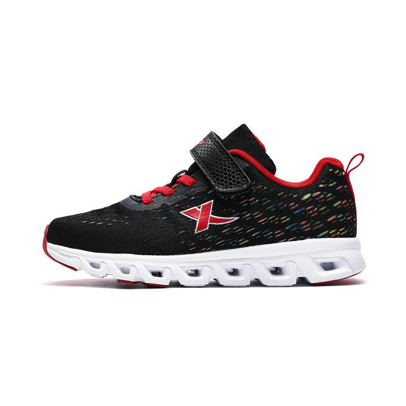特步 专柜款 男女童跑鞋 减震旋科技跑鞋小中童儿童运动鞋682116113077
