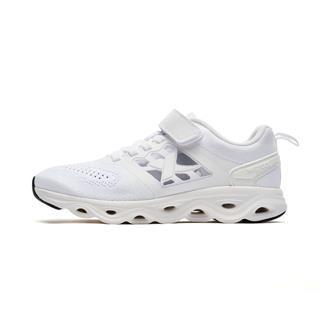 特步 专柜款 男童跑鞋 简约时尚魔力贴运动耐磨减震运动鞋682215115627