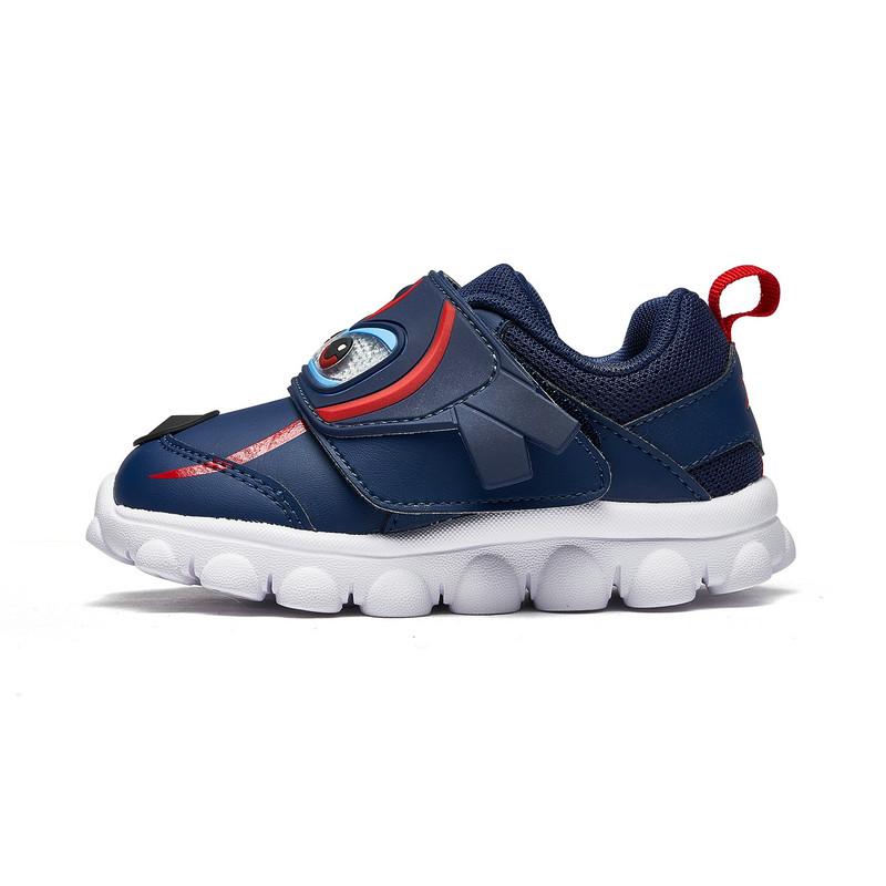 特步 专柜款 男女童跑鞋 2018秋季新品小童超级飞侠运动儿童健康鞋682316612120
