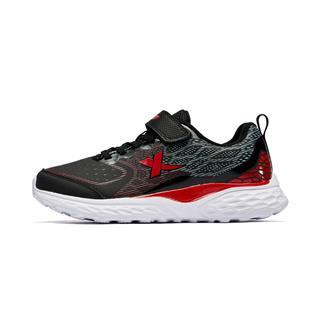 特步 专柜款 男童跑鞋 冬季新款休闲魔术贴耐磨儿童运动鞋682415115537