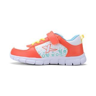 特步 女童秋季休闲鞋  新品可爱 魔术贴儿童鞋683314329999