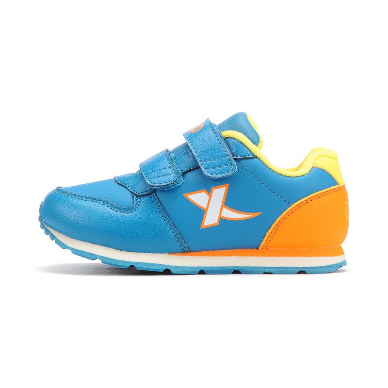 特步 男童休闲鞋  冬季拼接撞色儿童运动休闲鞋683415329703