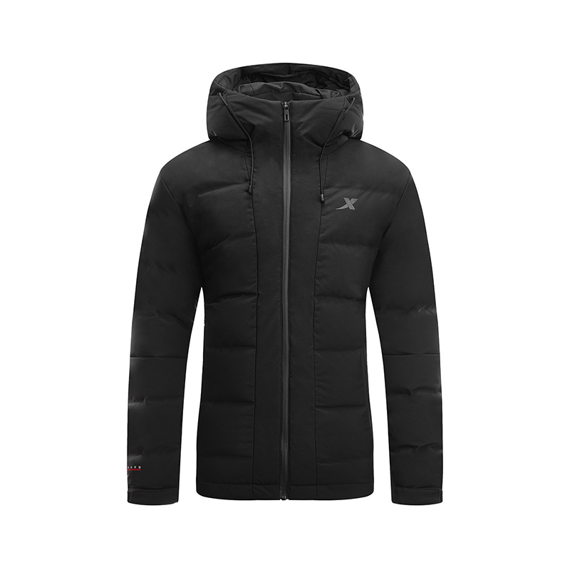 特步 专柜款 男子冬季综训运动保暖轻便羽绒服982429190858