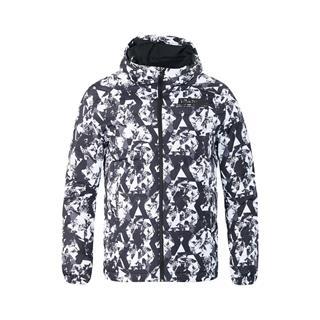 特步 专柜款 男子冬季连帽新款保暖舒适百搭综训羽绒服982429190890