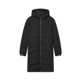 特步 专柜款 男子羽绒服 冬季新款休闲保暖中长款连帽运动外套982429190832