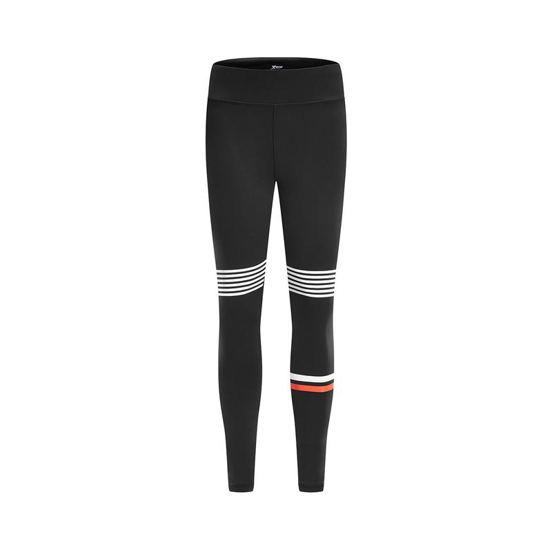 【8折专区】特步 女子紧身裤 19春季新款运动裤瑜伽跑步健身长裤881128899016