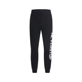 特步 男子针织长裤 收口针织字母时尚休闲裤881129639101