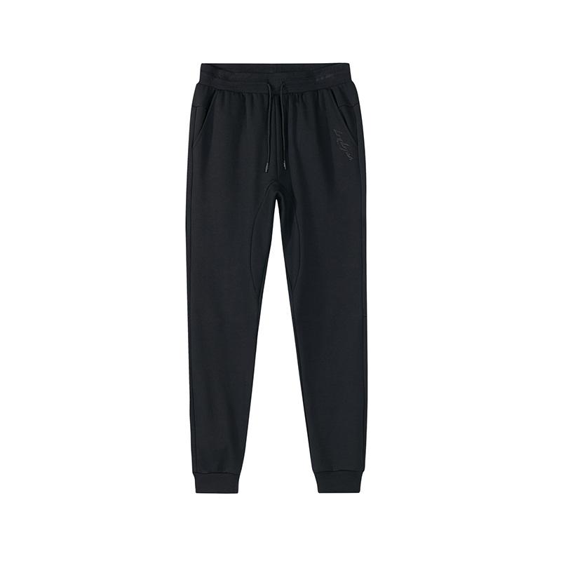 特步 专柜款  男子针织长裤  都市舒适休闲裤子982329631459