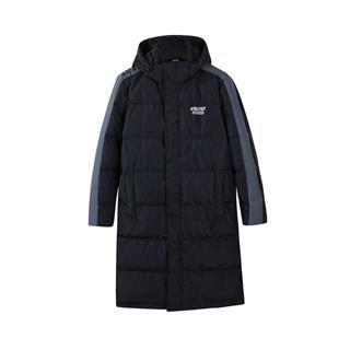 特步 专柜款 男子羽绒服2018冬季新款中长款加厚保暖运动外套982429190921