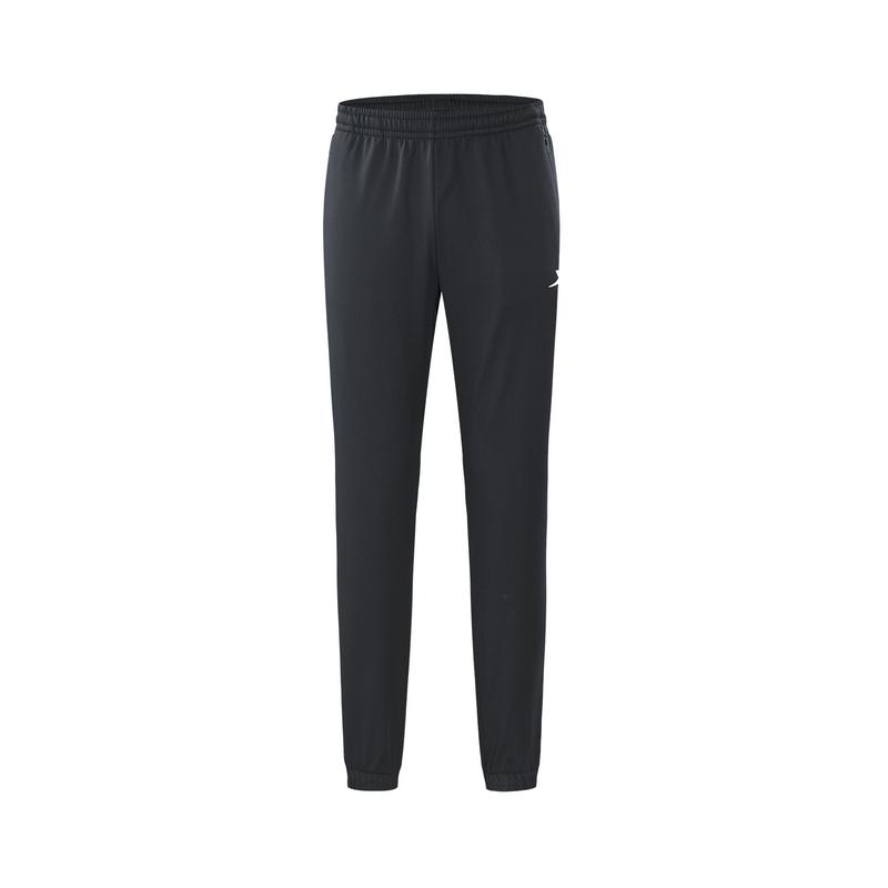 特步 专柜款 男子冬季新款保暖加厚收口休闲梭织运动长裤982429980203