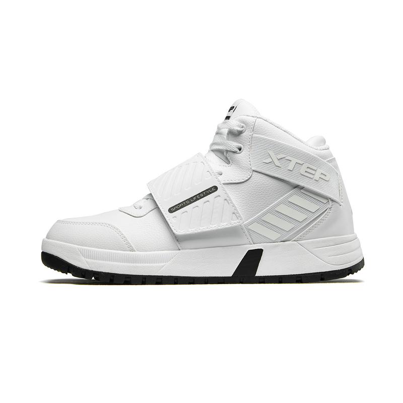特步 男子棉鞋 冬季新款加绒保暖时尚潮流高帮运动鞋882419379560
