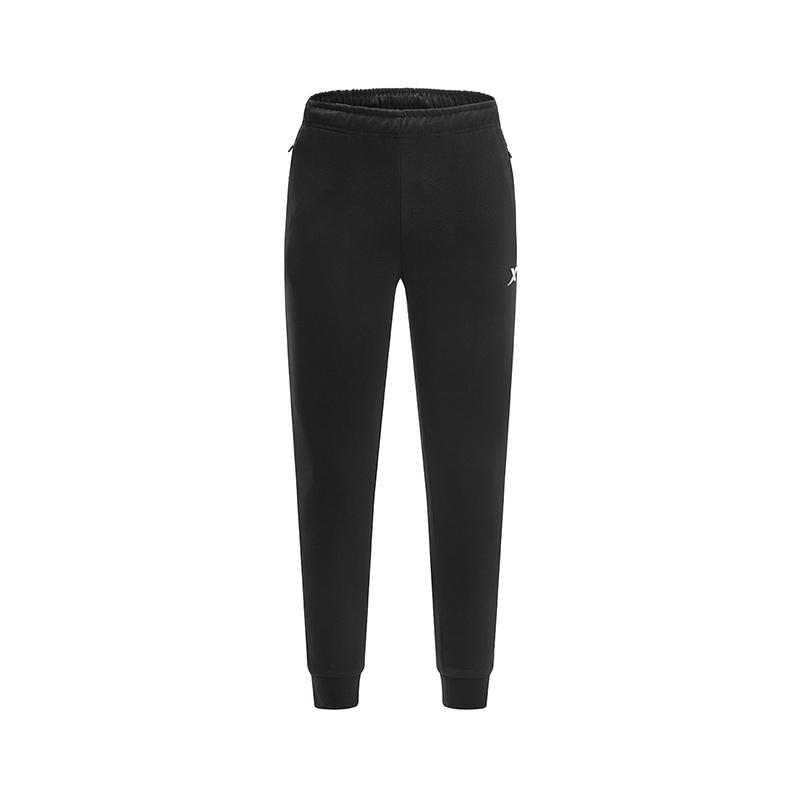 特步 专柜款 男子春季新款跑步运动健身针织长裤981129631653