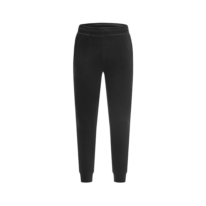特步 专柜款 男子春季新款纯色综训运动针织长裤981129631672
