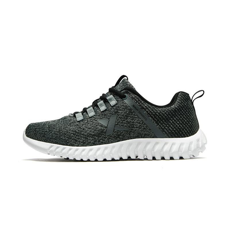 【柔立方】特步 男子春季新款网面舒适透气跑步运动鞋881119119005