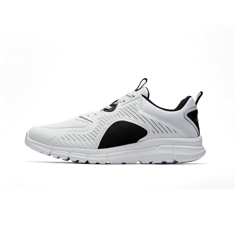 特步 专柜款 男子跑步鞋2019春新品跑步鞋革面休闲运动鞋981119110330