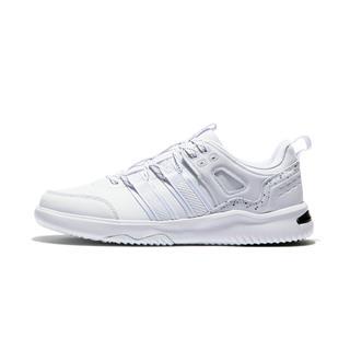 特步 专柜款 男子板鞋 冬季新款革面休闲系带百搭滑板鞋982419315997
